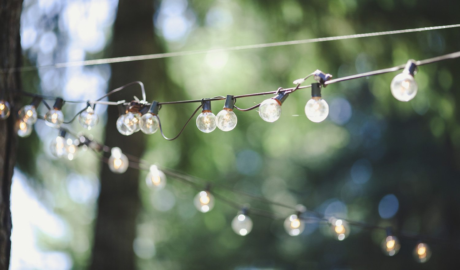 Outdoor String Lights Summer : Three Simple Ways to Spruce up Your Yard for Summer