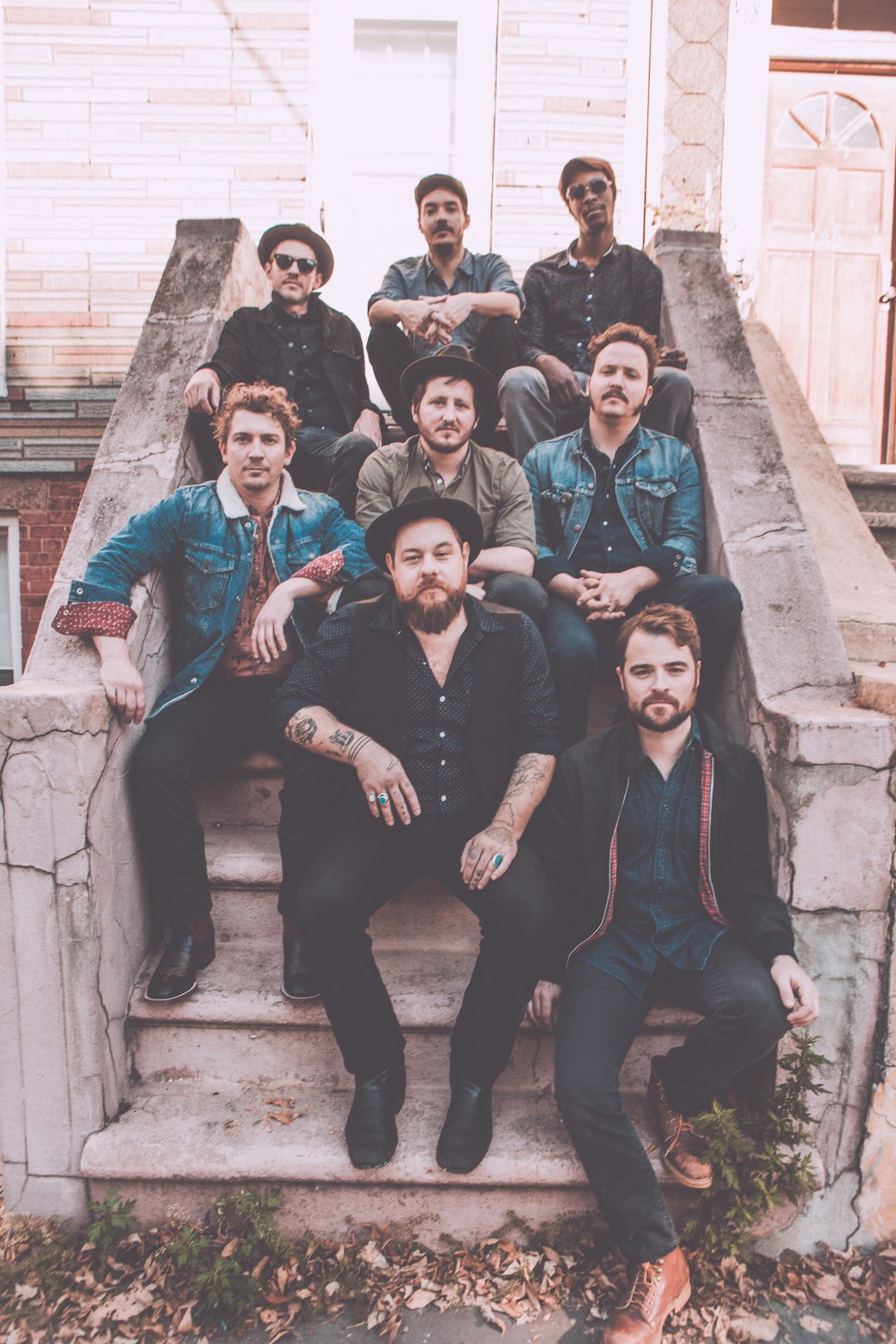 Nathaniel Rateliff & The Night Sweats (Photo credit- Brantley Gutierrez)