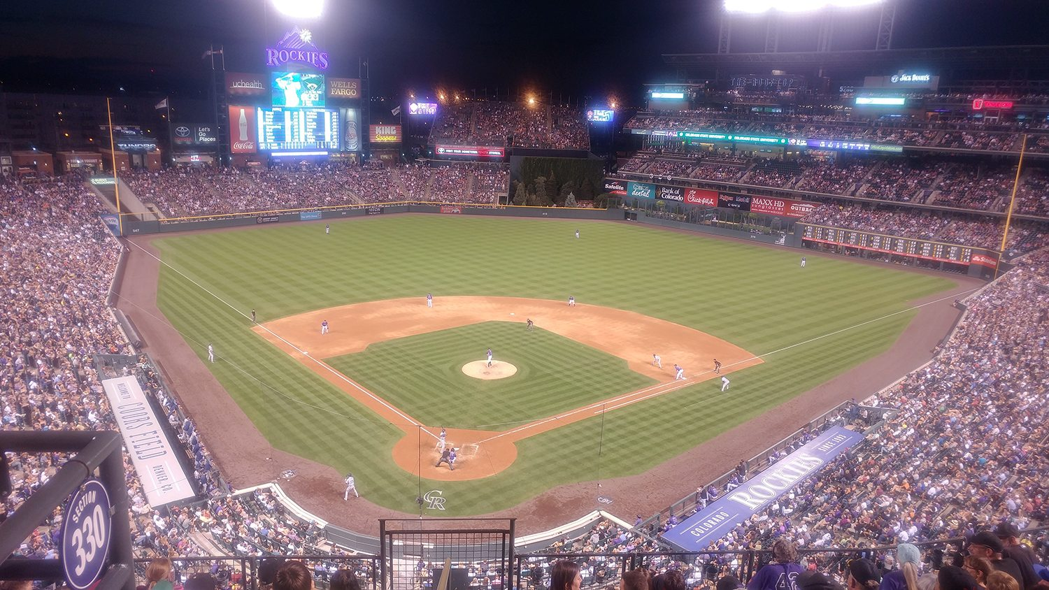 A Homerun for Coldwell Banker Night at the Rockies