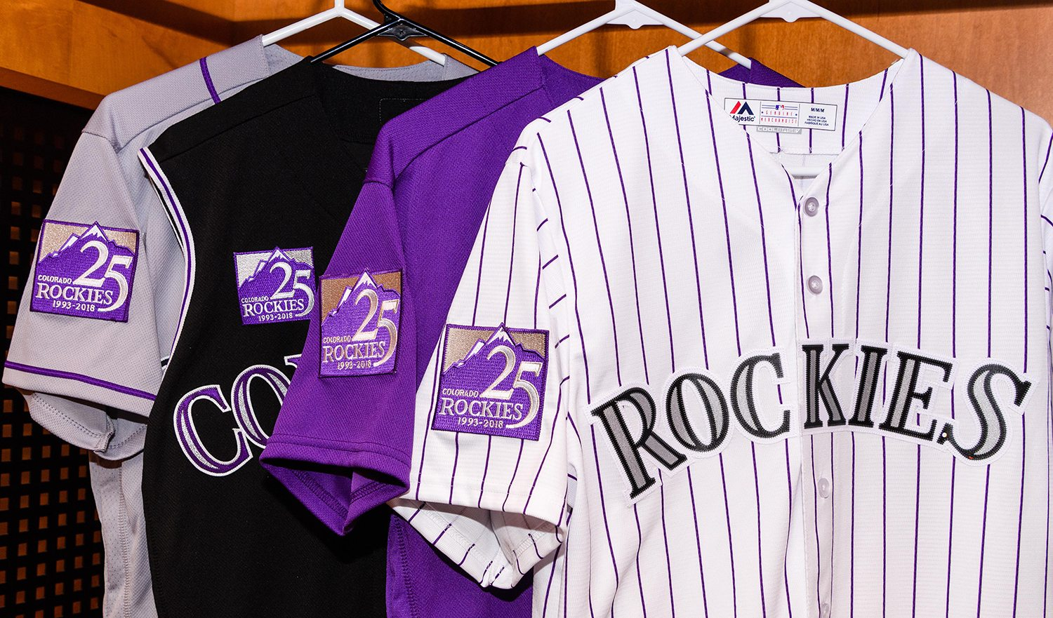 Get Your 25th Anniversary Season Rockies Gear