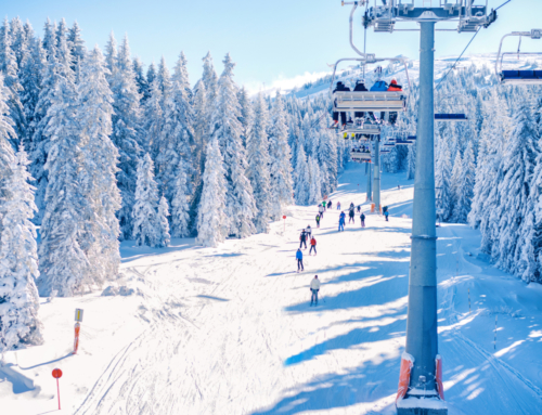Winter Park Adds Information Screens to Chairlift